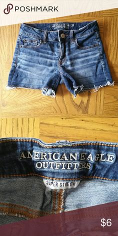 American Eagle Super Stretch Size 0. These are in EUC. Smoke free, pet free home. American Eagle Outfitters Shorts