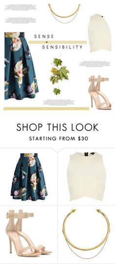 """""""Pleats, Please (Top Set for May 22nd)"""" by antemore-765 ❤ liked on Polyvore featuring Chicwish, River Island, Gianvito Rossi and OBEY Clothing"""