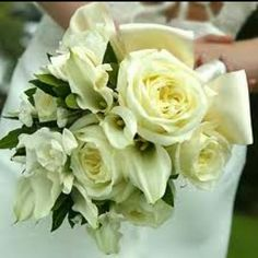 Roses and Calla Lily Bouquet
