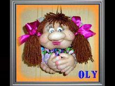МК кукла из колготок Повар-пекарь / DIY doll of pantyhose Cook - YouTube