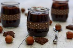 Danette chocolat - noisette maison (vegan, sans gluten)