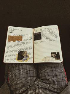 Bullet Journal Notebook, Bullet Journal Inspo, Notebook Drawing, Travel Journal Scrapbook, Journal Organization, Goblin King, Bullet Journal Aesthetic, Detective Agency, The Secret History