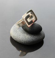 Hopeasormus, Hopeatyöt, Hopeakorut, Handmade Jewelry, Silver Jewelry, Silver Ring