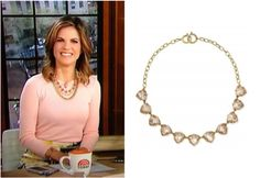 News anchor Natalie Morales on NBC's morning news The Today Show wearing the…