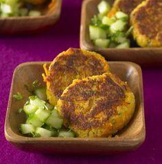 Möhren-Couscous-Bratlinge - Vegetarische Rezepte: Hauptspeisen - 29 - [ESSEN & TRINKEN]