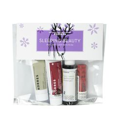 Buy KORRES Sleeping Beauty Set (Worth: and a full range of skincare and beauty products at Beauty Expert, with Free Delivery. Special Birthday Gifts, Birthday Gifts For Her, Natural Sleep Remedies, Rose Oil, Body Lotions, Radiant Skin, Beauty Box, Shower Gel, Day Use