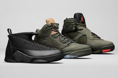 Jordan's Newest Sneakers With a Military Style Touch