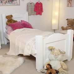 Nutkin (3') Childrens Bed - CCP11C is part of the exciting childrens 'Nutkin' white painted collection. #Furniture #Bedroom #BedroomFurniture #Nutkin #Bed #KidsBedroom #PriceCrashFurniture http://pricecrashfurniture.co.uk/nutkin-3-childrens-bed-ccp11c.html