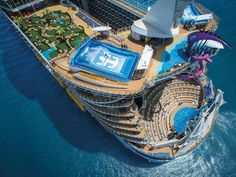 Start your vacation by exploring our cruise deals, last minute cruise deals, and discount cruises. Discover Royal Caribbean best cruise deals to over destinations. Royal Caribbean International, Croisière Royal Caribbean, Crucero Royal Caribbean, Symphony Of The Seas, Harmony Of The Seas, Luxury Boat, Luxury Travel, Cruise Travel, Cruise Vacation
