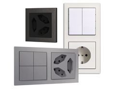 Uniform your control The aesthetic is not a detail. Uniform the style with our universal frames an plates. They are compatible with most common series on the market with the possibility of some combinations between window of 55 mm and 60 mm. Do not give up the harmony of forms. #homebuildingautomation #knx #domotics #wallmountingdevices #madeinitaly
