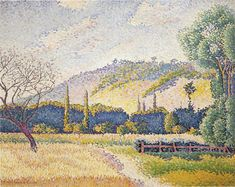 Paysage, Henri-Edmond Cross, 1896-1899, Honolulu Museum of Art.
