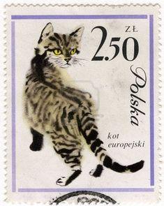 Postage stamp, Poland