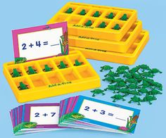Idea for making my own counting/adding/subtracting activity with manipulatives