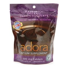 Adora  Calcium Supplement Dark Chocolate 30 ct Pack of 3 -- Be sure to check out this awesome product affiliate link Amazon.com
