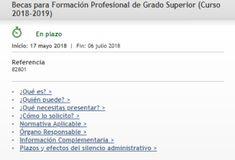 Becas #FP Formación Profesional Grado Superior (solo para centros privados autorizados) #madrid Madrid, Second Grade, Degree Of A Polynomial, Studio