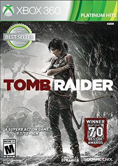 Tomb Raider Platinum Hits  Xbox 360 ** Details can be found by clicking on the image. Note:It is Affiliate Link to Amazon.