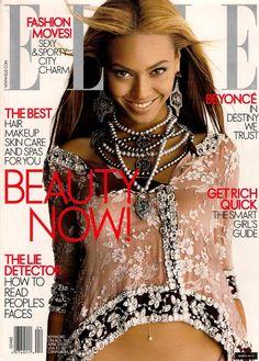 Elle US April 2003 - Beyonce Knowles