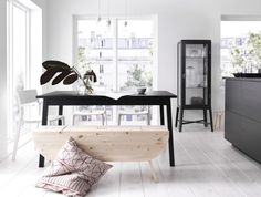The Scandinavian Side of Life - beeldsteil.tumblr.com #ikea #interior #styling #black