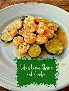 Baked Lemon Shrimp and Zucchini Recipe on Yummly