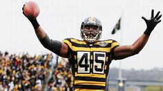 1934 Pittsburgh Steelers throwbacks - week 8 NFL season 2012 - Leonard Pope