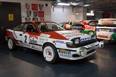 Toyota Celica GT-Four ST165 - Toyota Motorsport visit