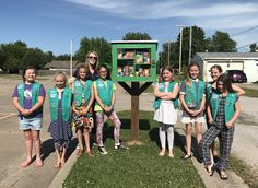 The Broken Arrow Blessing Box was created by the Juniors of Girl Scout Troop 1482 from GSEOK as their Bronze Award Project. To find out more, please visit our page: www.facebook.com/brokenarrowblessingbox