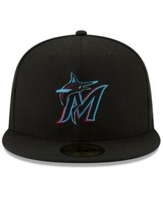 New Era Miami Marlins Authentic Collection 59FIFTY Fitted Cap 4572f6ad53f1