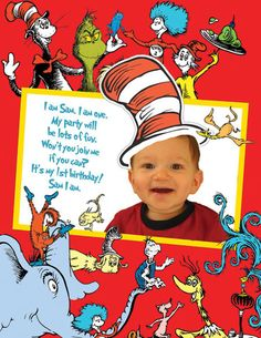 Dr. Suess invitation