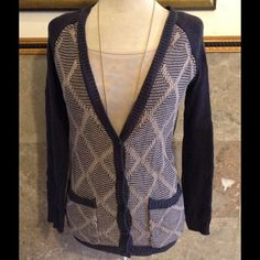 Knitted sweater button & 2 pockets Warm and cozy cute colors new with out tags. NORDSTROM Wild pearl Sweaters