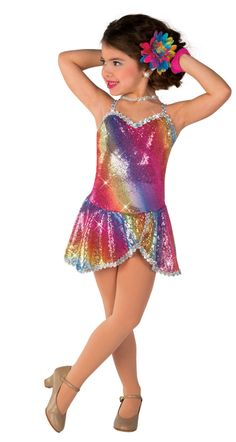 Miss Frannie's 4:15 Tuesday Pre-Ballet 2 & Tap: Rainbow Island Dancers. Photo courtesy Costume Gallery.