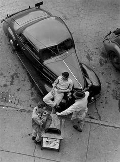 brooklyn, new york | 1940s | #vintage #1940s #newyork