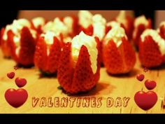 ▶ Morangos Recheados com Creme de queijo . Receita Super Facil para o Dia dos Namorados. - YouTube