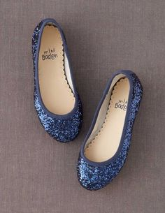 I've spotted this @BodenClothing Ballet Flats Navy Glitter