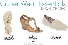 Choosing travel shoes to pack for a cruise is made easy with this packing list! When planning what to pack for a cruise in the Caribbean, follow these expert tips.