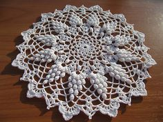 Grape Harvest Doily by Jo Ann Maxwell   Flickr - Photo Sharing!