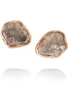Brooke Gregson|18-karat rose gold diamond earrings|NET-A-PORTER.COM