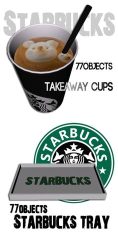 Starbucks Set by 77objects - Sims 3 Downloads CC Caboodle