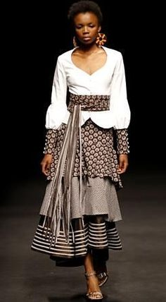 by Bongiwe Walaza ~Latest African Fashion, African Prints, African fashion… South African Fashion, African Fashion Designers, African Inspired Fashion, African Print Fashion, Africa Fashion, African Prints, African Fabric, African Dresses For Women, African Attire