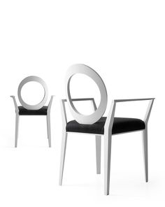 Open back chair with armrests GEMMA 1612 Gemma Collection by Bross Italia design…