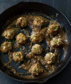 Leftover Turkey Dressing Meatball   Don't know what to do with all the leftover stuffing after Thanksgiving? Try making these easy leftover stuffing recipes.