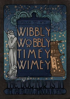 Gorgeous fan art nouveau TARDIS by Koroa Doctor Who Weeping Angel Dalek- wibbly wobbly timey wimey The Doctor, Serie Doctor, Doctor Who Art, Doctor Who Poster, Doctor Who Tumblr, Die Tardis, Tardis Art, Art Nouveau, Art Deco