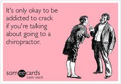 Oh believe us. We're addicted.  #adjustmentsarelife #chiropractic #chiropractor