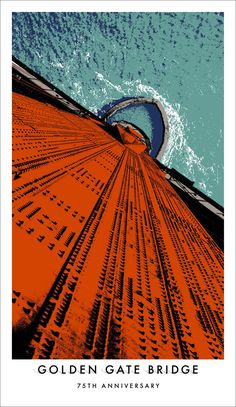 Golden Gate Bridge 75th Anniversary Posters