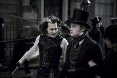 Street Film, Fleet Street, Johnny Depp Roles, Dark Shadows Movie, Johnny Movie, Renaissance, Jonny Deep, Tim Burton Films, Sweeney Todd