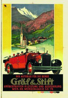 Gräf & Stift 1927, Vintage Poster