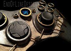 Controler de Xbox 360 Customizado de Dishonored