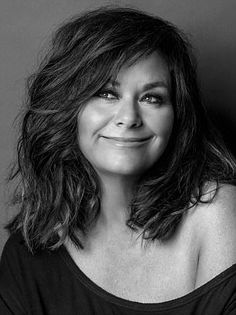 Captured: Dawn French was beautifully captured for her birthday in a portrait that shows that she's ageing in reverse Vicar Of Dibley, Jennifer Saunders, Dawn French, French Hair, Girls World, Black And White Portraits, Human Hair Wigs, Retro, Wig Hairstyles