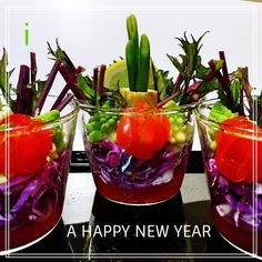 門松風 おせちカップサラダ 【Cup salad like KADOMATSU / the New Year's decorative pine branches】