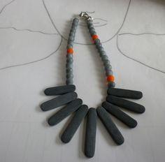 Onyx - Onyx - Collier Ayasha - ein Designerstück von sibea bei DaWanda