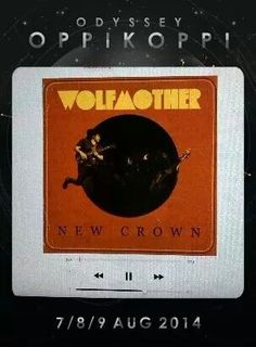 Wolfmother at Oppikoppi Festival with the new app hell yeah!!!